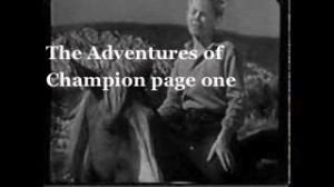 The-Adventures-of-Champion-page-one