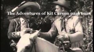 The-Adventures-of-Kit-Carson-page-one
